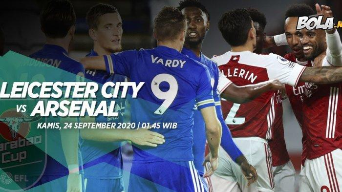 Prediksi Leicester City vs Arsenal 24 September 2020, Leicester Lebih Unggul di Kandang