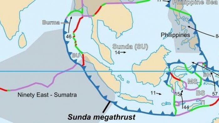 Sunda Megathrust Bisa Picu Gempa Besar dan Tsunami di Selatan Jawa, Begini Cara Selamatkan Diri