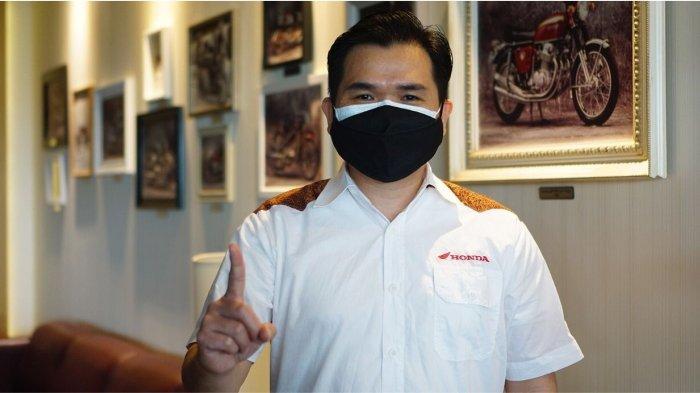 Lerri Gunawan, meraih penghargaan West Java Marketing Champion 2021 di sektor Automotive