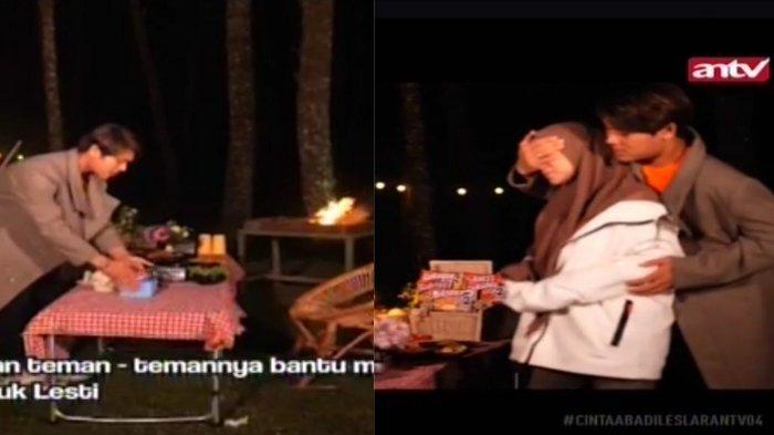 Foto-foto Rizky Billar Siapkan Sendiri Dinner Romantis Demi Bahagiakan Lesti, Sang Istri Terharu