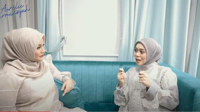 Lesti Kejora blak-blakan menceritakan ke Aurel Hermansyah seperti apa rasanya saat ia baru tahu hamil.
