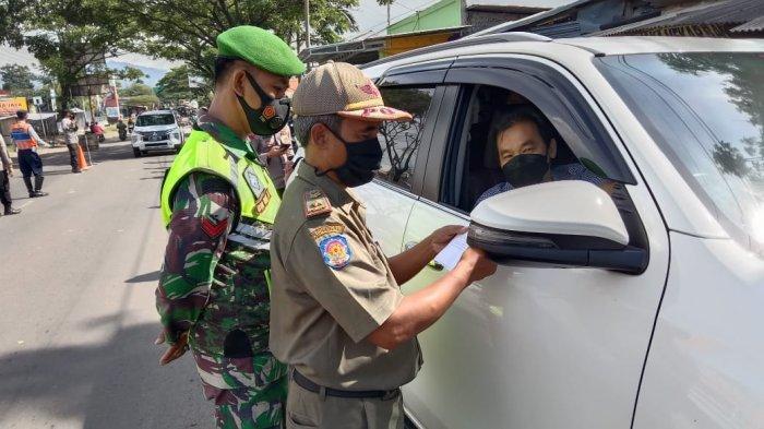 Libur Imlek Arus Kendaraan ke Cianjur Meningkat, Dua Mobil Luar Kota Terpaksa Diputarbalikkan