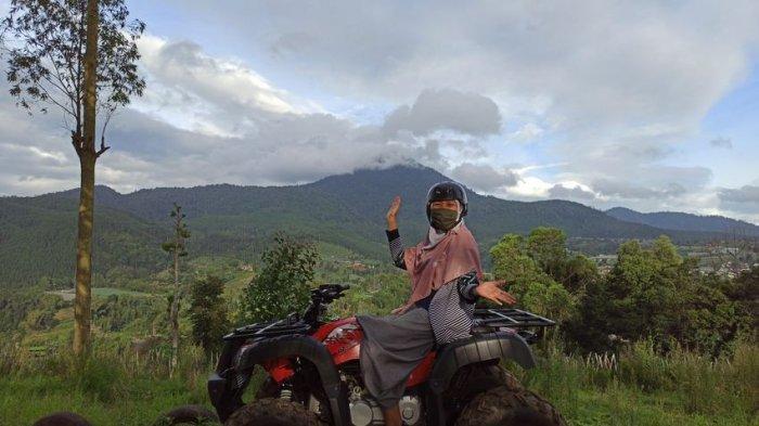 Liburan Seru Pacu Adrenalin Sambil Main ATV di The Lodge Group Lembang
