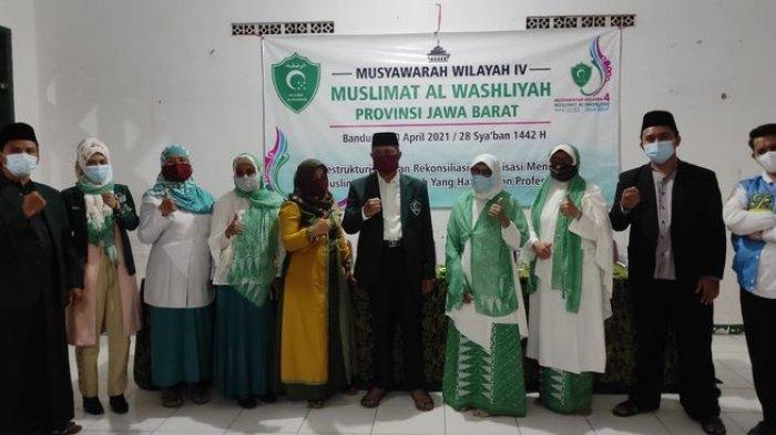 Lilis Satriah Terpilih Menjadi Ketua Muslimat Al Washliyah Jabar, Ingin Organisasi Lebih Dikenal