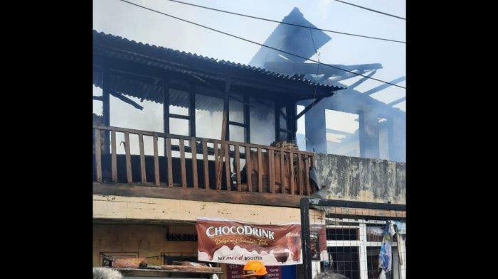 Kebakaran Hanguskan Lima Rumah di Pagarsih Bandung, Sempat Ada Ledakan di Salah Satu Rumah Warga