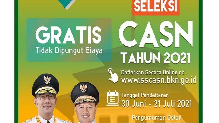 Jadwal SKD CPNS 2021 Provinsi Jawa Barat Sudah Keluar, Peserta Harus Datang 90 Menit Sebelum Ujian