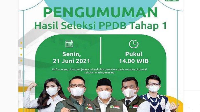 Hari Ini Terakhir Daftar Ulang PPDB Jabar, List Website SMA di Bandung untuk Login atau Daftar Ulang