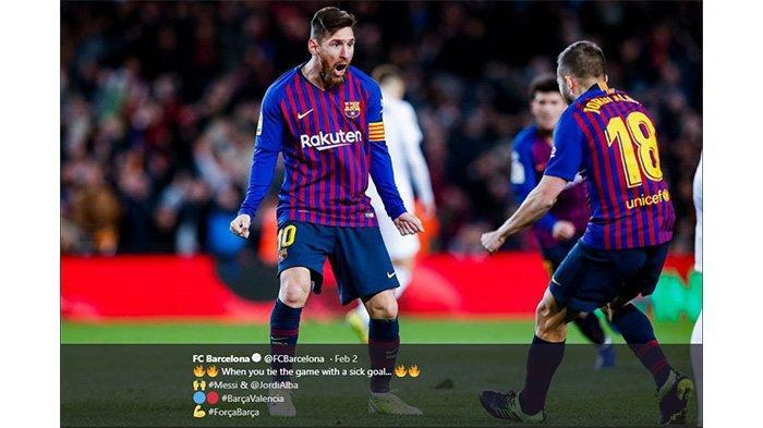 Lionel Messi Hattrick Assist, Barcelona Pesta Kemenangan di Markas Real Betis