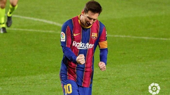Hasil Liga Spanyol, Lionel Messi Cetak Dua Gol, Barcelona Jaga Asa Juara