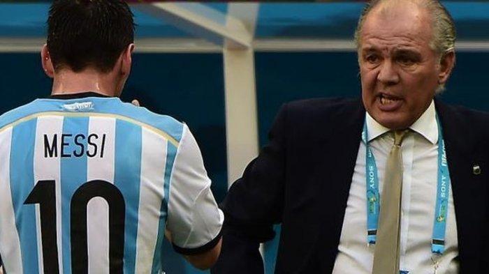 Pelatih Timnas Argentina Di Piala Dunia 2014 Meninggal Dunia Lionel Messi Turut Berduka Tribun Jabar