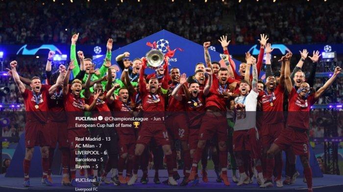 Bulan Depan, Liverpool Bisa Pesta Juara Liga Inggris, Butuh 6 Kemenangan Lagi