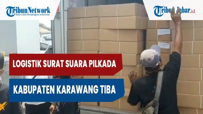 KPU Karawang Pastikan 95 Persen Logistik Pilkada Sampai ke TPS H-1 Pencoblosan
