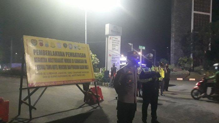 Pusat Perbelanjaan Ramai di Karawang, Satgas Penanganan Covid-19 Tambah Titik Penyekatan