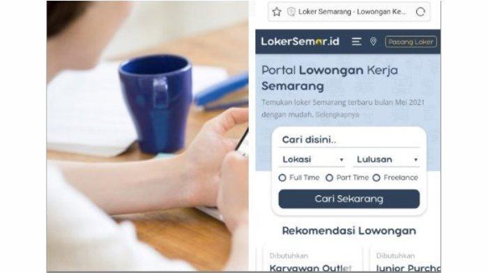 Mau Kerja Di Kota Semarang? Coba Cek via LokerSemar.id