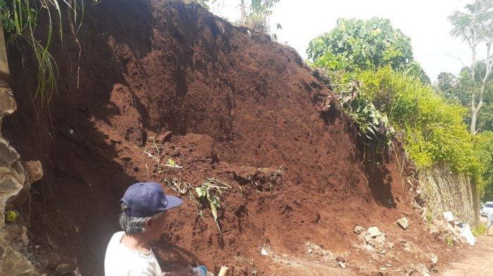 Longsor Melanda Tiga Wilayah di Kota Cimahi