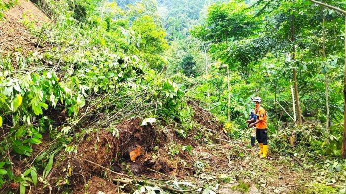 Jalan Alternatif 2 Kecamatan di Sumedang Terputus Longsoran Setinggi 12 Meter