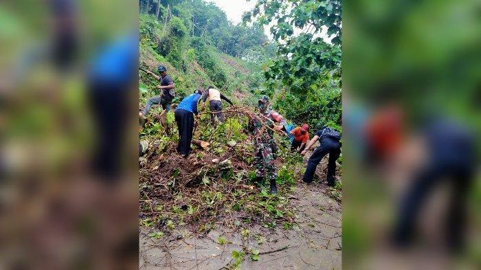 Tebing Setinggi 10 Meter di Pangandaran Longsor, Tutupi Jalan Utama Warga