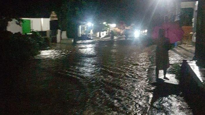 Tujuh Rumah Rusak Akibat Tanggul Jebol di Gegerbitung Sukabumi