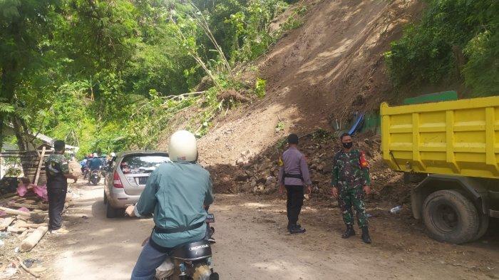 Kondisi Terkini Longsor di Simpenan Sukabumi, Jalan Sudah Mulai Bisa Dilalui