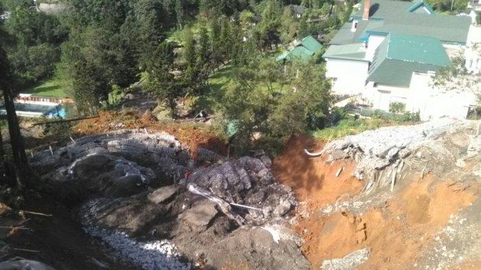 Longsor Susulan Terjadi di Puncak Pass, Lihat foto-fotonya