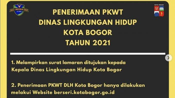 Kabar Gembira Lowongan Kerja Di Dinas Lingkungan Hidup Kota Bogor Untuk Lulusan Sd Smp Sma Smk Tribun Jabar