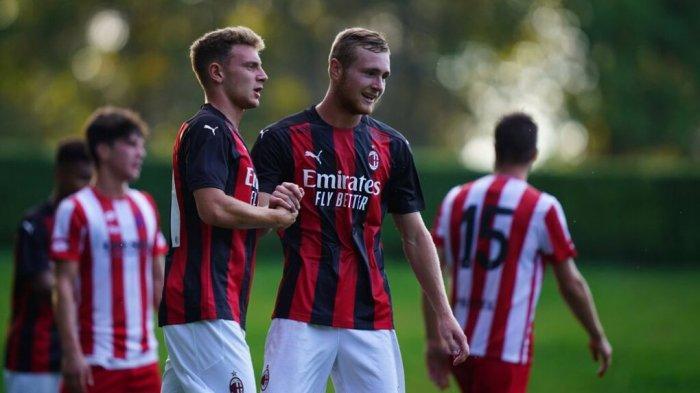 Profil Luca Tanga, Pemain AC Milan Primavera yang Makin Sering Bergabung dengan Tim Senior