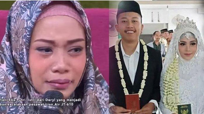 Pesan Korban Lion Air JT610, Deryl Fida Febrianto: Maafin Pipi Nak, Enggak Bisa Lihat Perkembanganmu