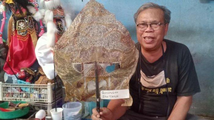Wayang Jokowi Pernah Dibuat oleh Duyeh, Dia Pernah Juga Membuat Wayang Ahok dan Pejabat Lainnya