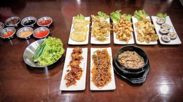 Menu side bar Magal Korean BBQ PVJ.