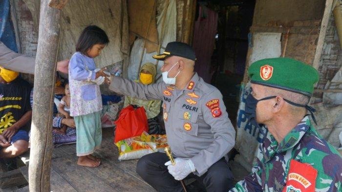 Mah Iyah Hidup Prihatin di Tengah Sawah, Polres Cianjur Bantu Warga Terdampak Covid-19