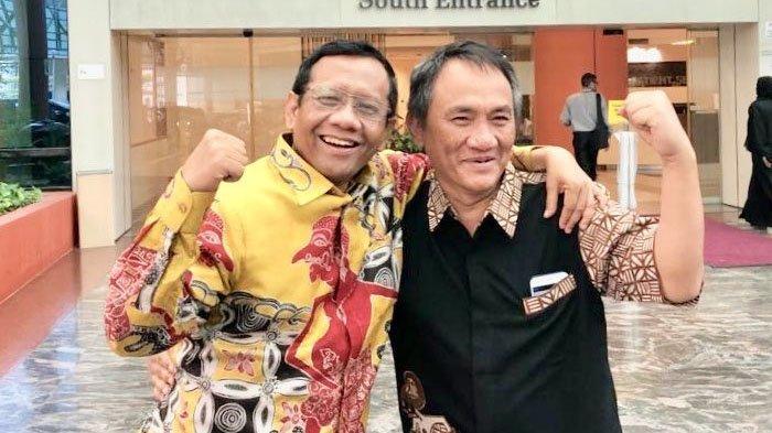 Saling Balas Cuitan Andi Arief - Mahfud MD, Kali Ini Sebut Soal 'Jenderal Tua', Siapa yang Dimaksud?