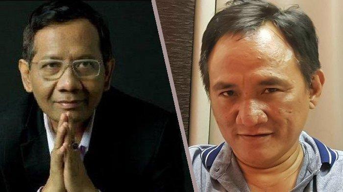 Andi Arief 'Ngegas', Sebut Mahfud MD Sok Tahu dan Sok Benar soal Kasus Narkoba yang Dialaminya