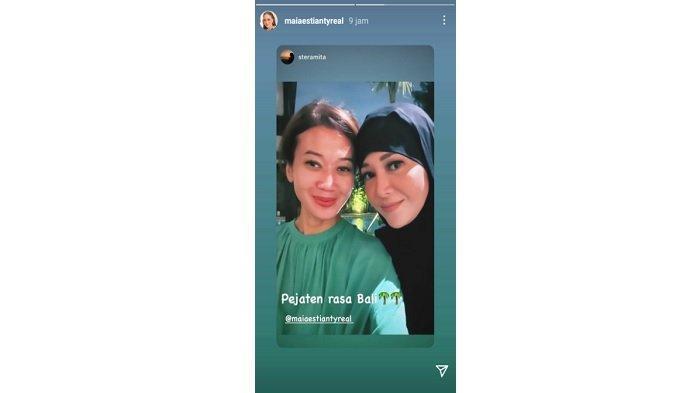 Pulang dari Amerika Setelah Temani Irwan Mussry, Maia Estianty Kenakan Hijab, Penampilannya Berbeda