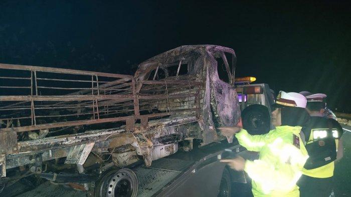 Sopir Mobil Pikap Korban Kecelakaan Tol Cipali Majalengka Telah Diambil Keluarga