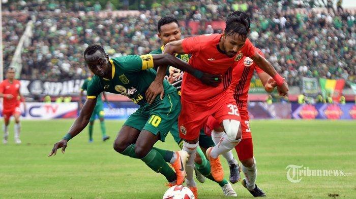 DAMPAK CORONA, Laga Persija Jakarta vs Persebaya Kemungkinan Tanpa Penonton, Laga Arema vs Persib?