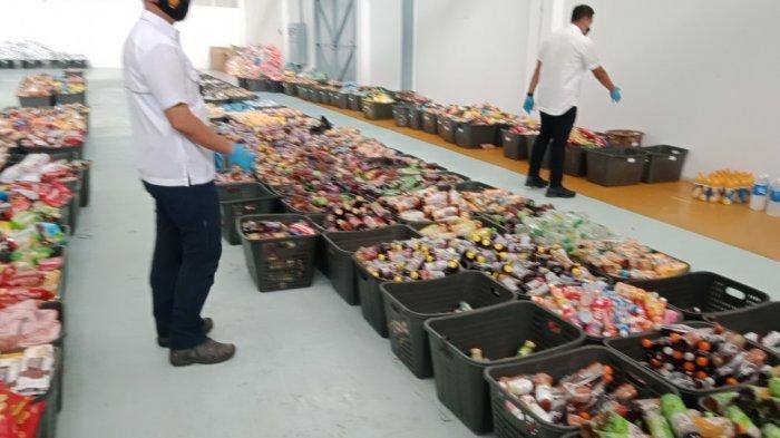BREAKING NEWS, Hati-hati Beli Produk Mamin, Polda Jabar Ungkap Makanan Bekas Kebanjiran Dijual Lagi
