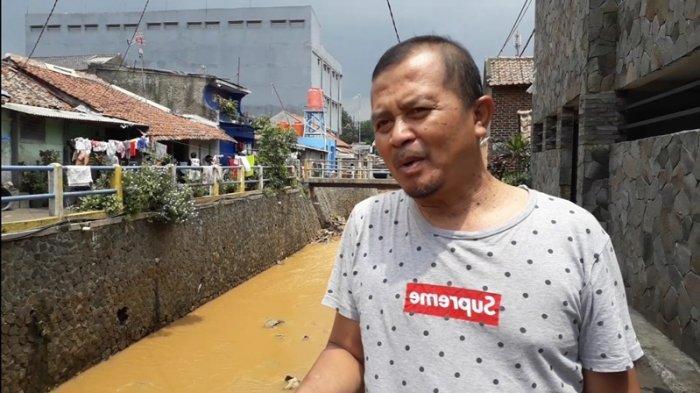 Kirmir Sungai Cipamokolan Kelurahan Cicaheum Bandung Diperbaiki, Begini Tanggapan Warga