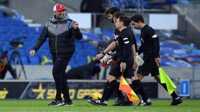 Hasil Liga Inggris Brighton Vs Liverpool 1 1 Klopp Tegaskan Itu Bukan Penalti Tribun Jabar
