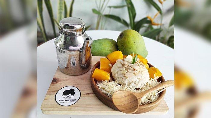 Lezatnya Mango Sticky Rice Pulut Nyonya Tan Cimahi, Ketannya Lembut dan Wangi, Saus Lumer di Mulut