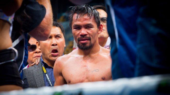 BESOK Manny Pacquiao vs Yordenis Ugas, Ini Niat Terpuji Pacquiao Mau Bertanding Lagi