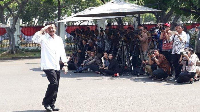 Siapa Syahrul Yasin Limpo? Politikus Nasdem Ini Juga Dipanggil Jokowi ke Istana Kepresidenan