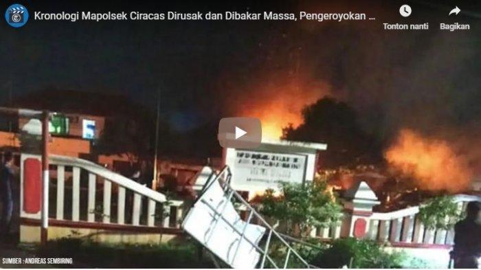 Anggota TNI yang Terbukti Ikut Merusak dan Membakar Mapolsek Ciracas Bakal Dipecat