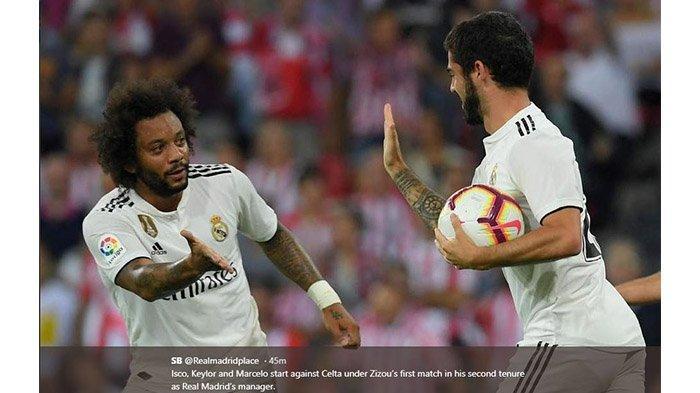 Sedang Berlangsung Real Madrid vs Arsenal di ICC, Berikut Link Live Streaming