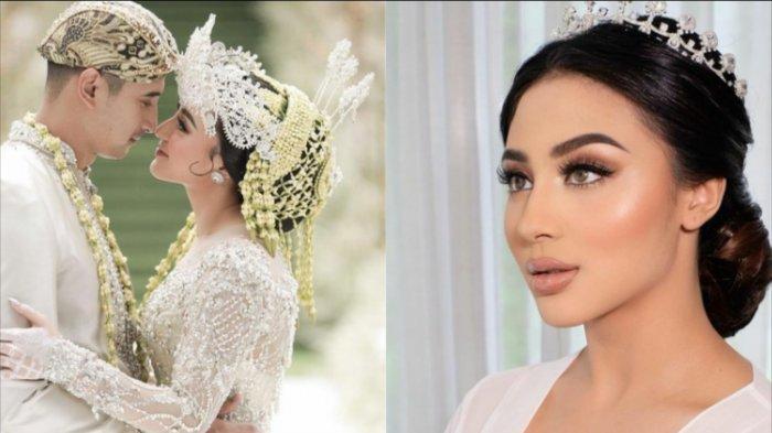 Foto-foto Margin Wieheerm Dinikahi Ali Syakieb, Cantiknya Bak Seorang Putri Pakai Gaun Pengantin