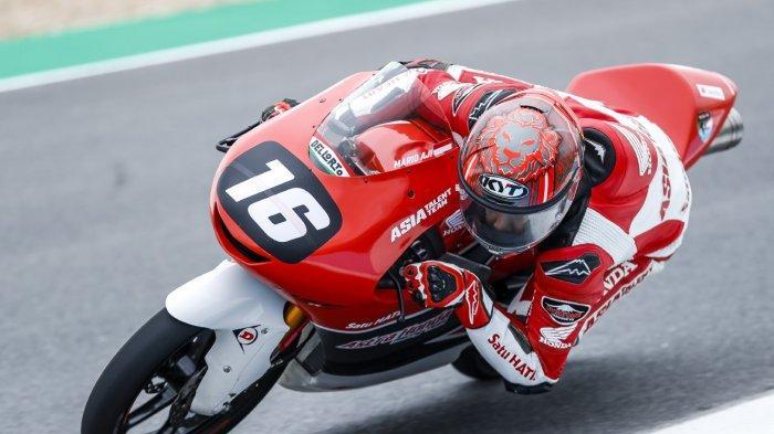 Mario Suryo Aji, pembalap Astra Honda Racing Team (AHRT)