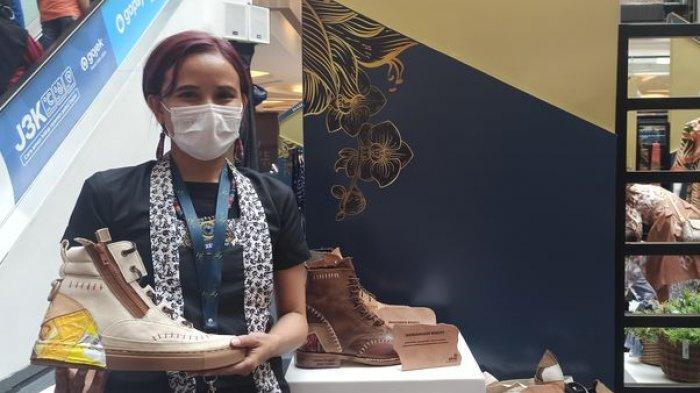 Sepatu Boot Berbahan Limbah Diminati Eropa, Diperkenalkan di Gernas BBI dan BWI