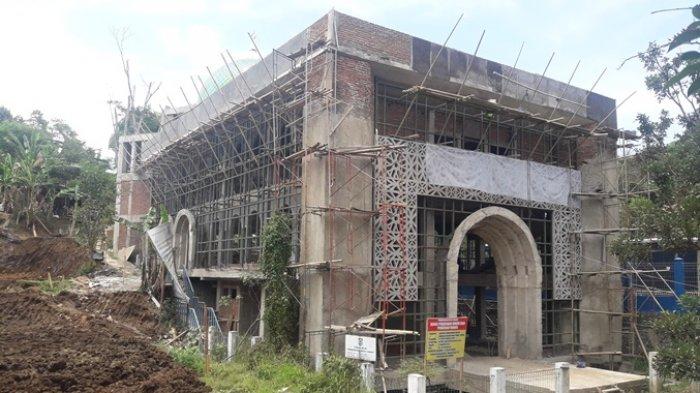 Pambangunan Masjid Pemkot Cimahi Akhirnya Dilanjut, Ditargetkan Selesai Akhir Tahun 2018