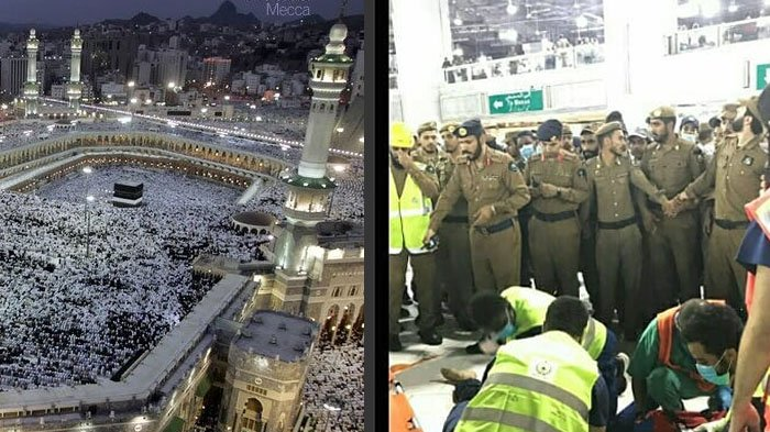 Insiden Pria Jatuh dari Atap Masjidil Haram, Tubuhnya Terhempas ke Kerumunan Jemaah
