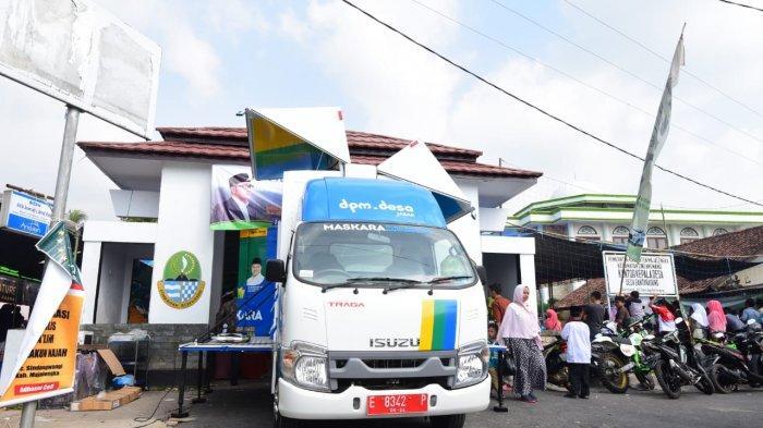 Mobil Ala Transformer, Maskara untuk Desa Mandiri, Wagub Jabar; Mobil Multifungsi untuk Bangun Desa
