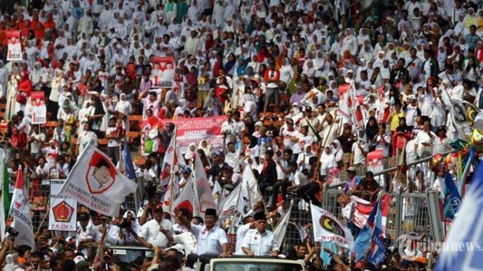 Setelah Prabowo Tak Akui Penghitungan KPU, Gerindra Minta Pendukung Ikut Tak Akui Hasil Pilpres 2019